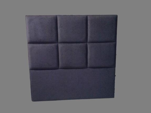 Cabecero cuadros con acople a cama-canapé