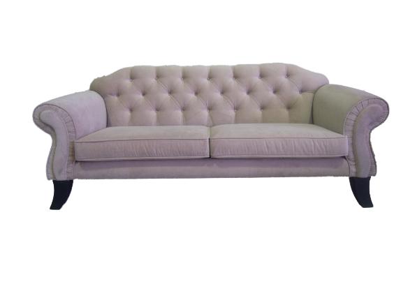 Restauración sofá clásico en capitoné