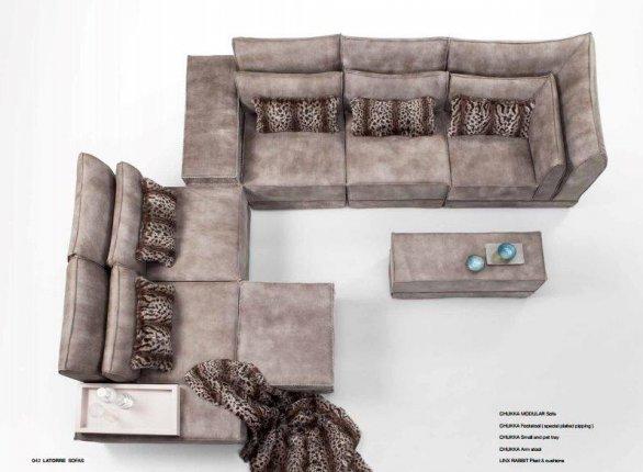 sofá modular con medidas especiales